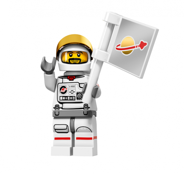 LEGO® Minifiguren Serie 15 - Astronaut 71011-02