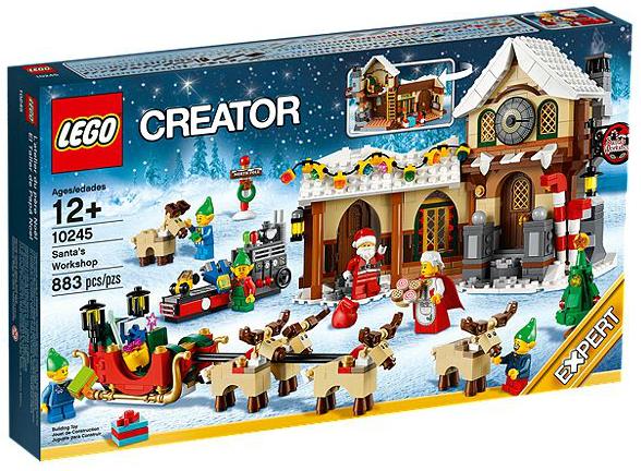 LEGO® 10245 Weihnachtliche Werkstatt