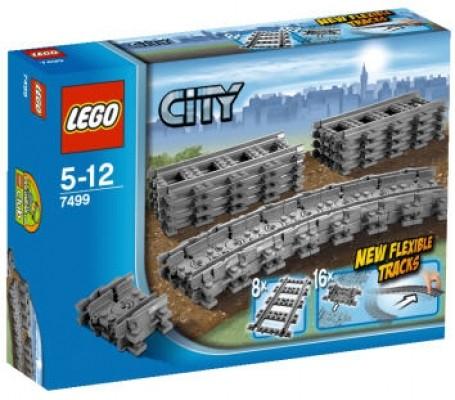LEGO® CITY 7499 Flexible Schienen