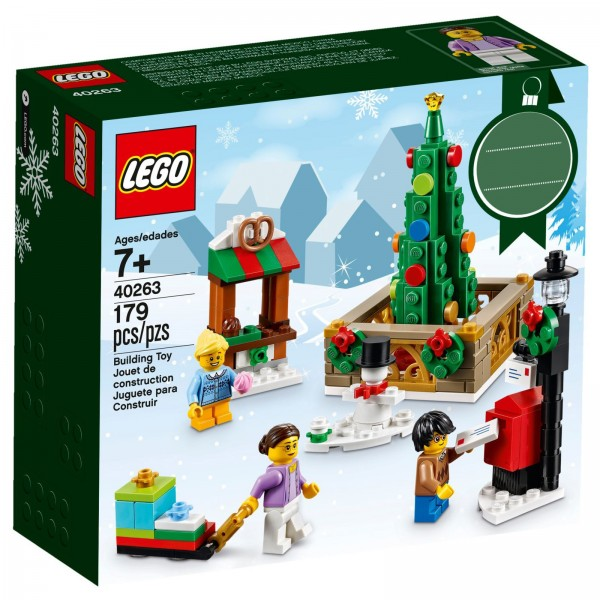 LEGO® 40263 Weihnachtsmarkt