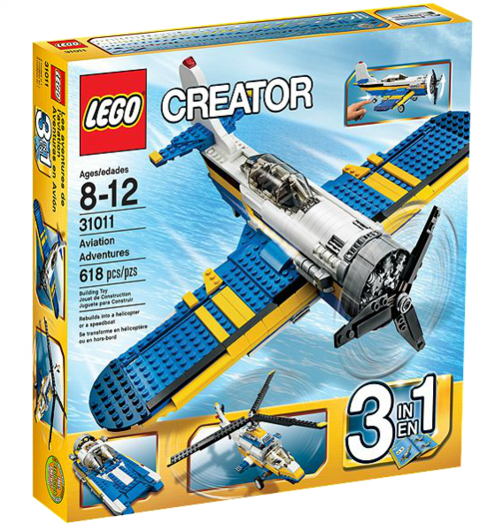 LEGO® Creator 31011 Propellermaschine