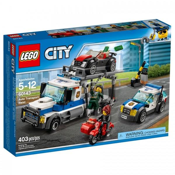 LEGO® CITY 60143 Überfall auf Autotransporter