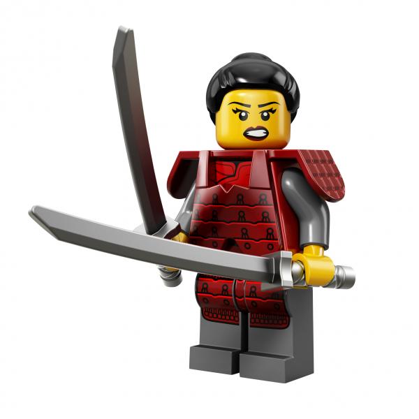 LEGO® Minifiguren Serie 13 - Lady Samurai 71008-12