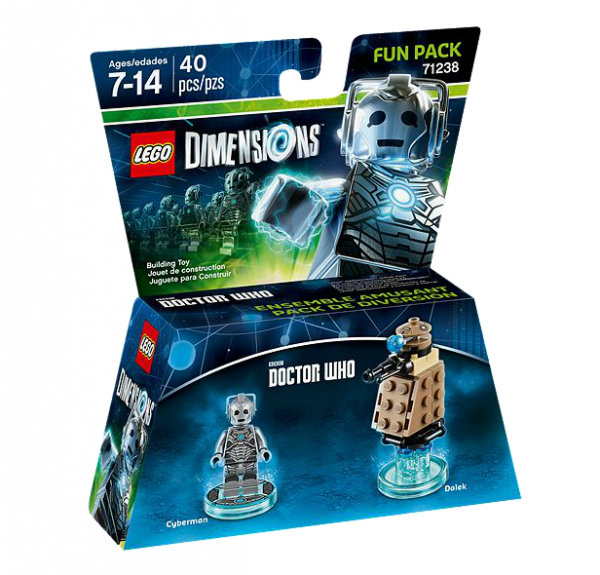 LEGO® Dimensions 71238 Fun Pack Doctor Who: Cyberman