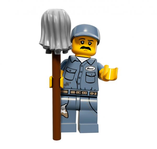 LEGO® Minifiguren Serie 15 - Hausmeister 71011-09
