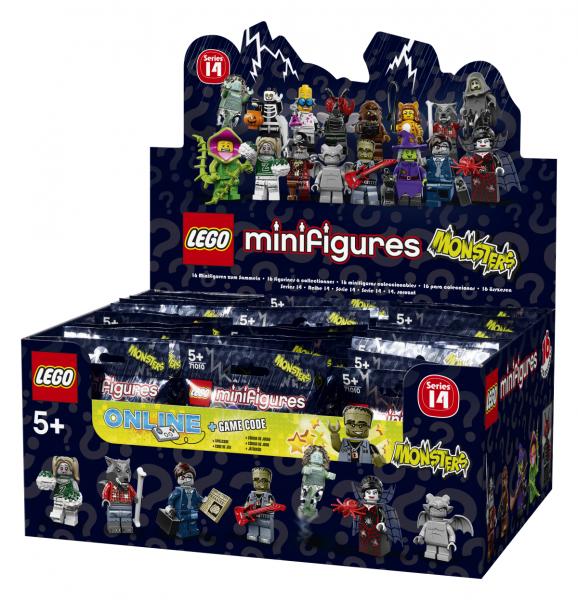 LEGO® Monster Minifigures Serie 14 - Thekendisplay