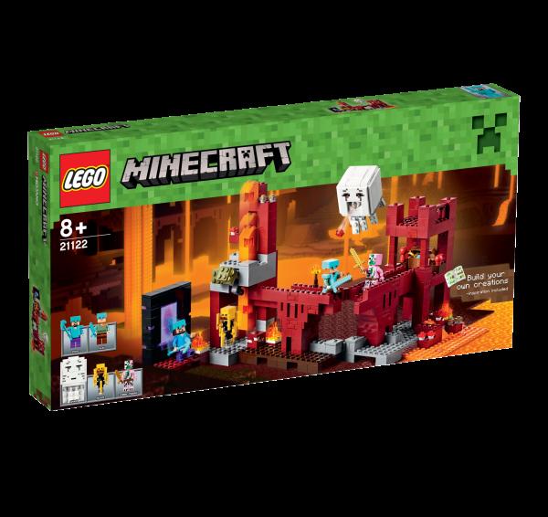 LEGO® Minecraft 21122 Die Netherfestung