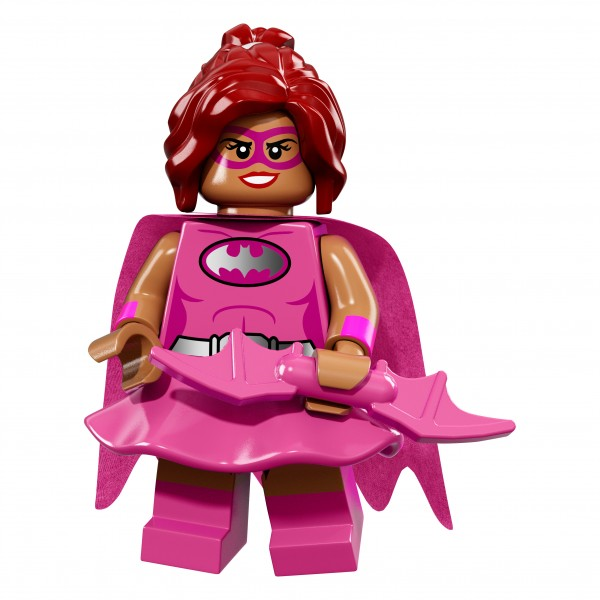 The LEGO® Batman Movie Minifigur - Pink Power Batgirl 71017-10
