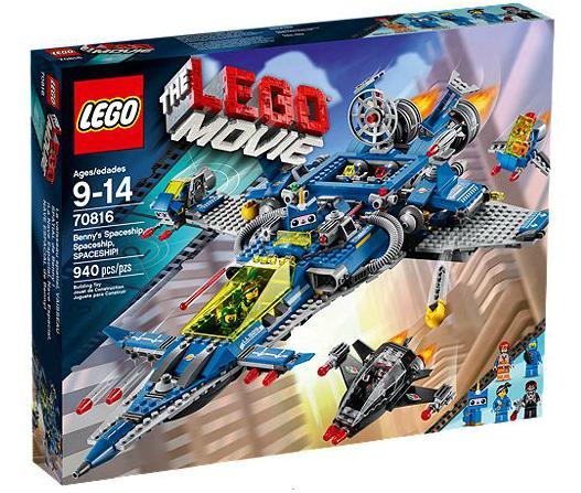 LEGO® Movie 70816 Bennys Raumschiff, Raumschiff, RAUMSCHIFF!