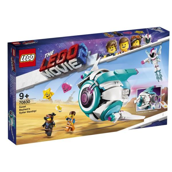 LEGO® Movie 2 - 70830 Sweet Mischmaschs Systar Raumschiff