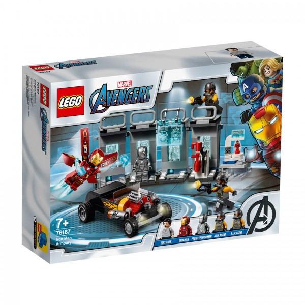 LEGO® Marvel Super Heroes™ 76167 Iron Mans Arsenal
