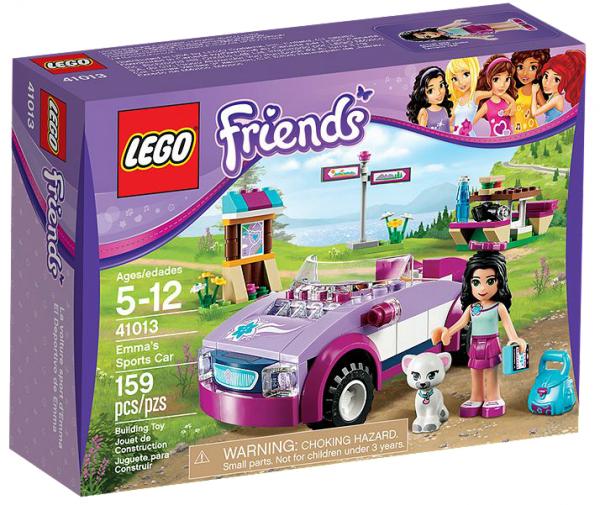 LEGO® Friends 41013 Emmas Sportwagen