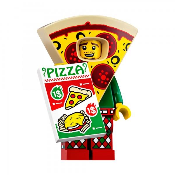 LEGO® Minifigur Serie 19 71025-10: Mann im Pizzakostüm
