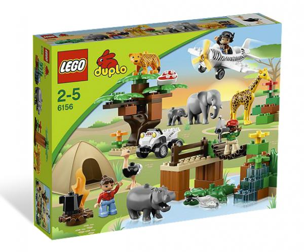 LEGO® DUPLO 6156 Safari-Abenteuer
