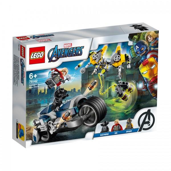 LEGO® Marvel Super Heroes™ 76142 Avengers Speeder-Bike Attacke