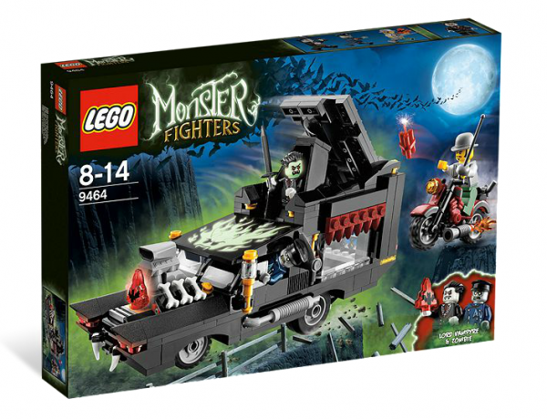 LEGO® Monster Fighters 9464 Fahrende Vampirgruft