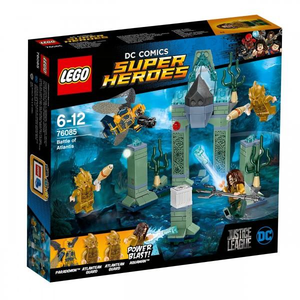 LEGO® DC Comics Super Heroes 76085 Das Kräftemessen um Atlantis