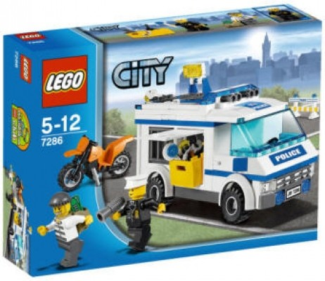 LEGO® CITY 7286 Gefangenentransporter