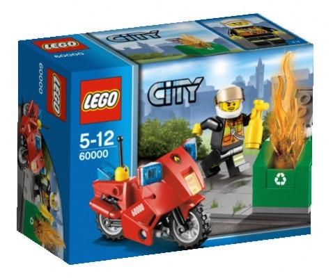 LEGO® CITY 60000 Feuerwehr-Motorrad