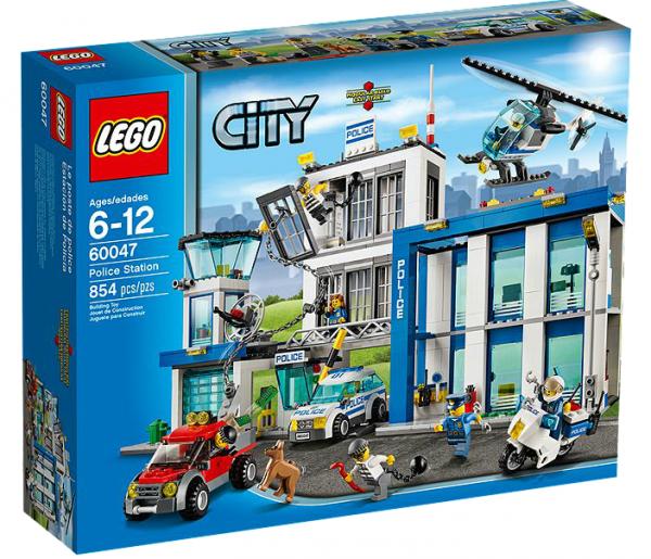 LEGO® CITY 60047 Ausbruch aus der Polizeistation