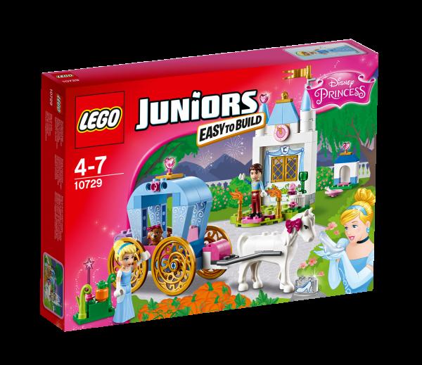 LEGO® Juniors 10729 Cinderellas Märchenkutsche