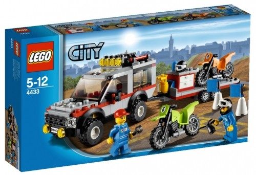 LEGO® CITY 4433 Crossbike Transporter