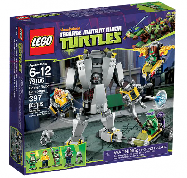 LEGO® TMNT 79105 Baxters Roboter