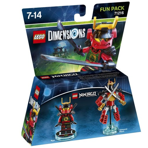 LEGO® Dimensions 71216 Fun Pack Ninjago: Nya