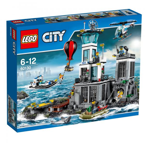 LEGO® CITY 60130 Polizeiquartier auf der Gefängnisinsel