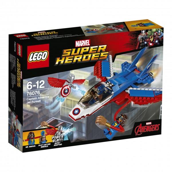 LEGO® Marvel Super Heroes 76076 Captain America: Düsenjet