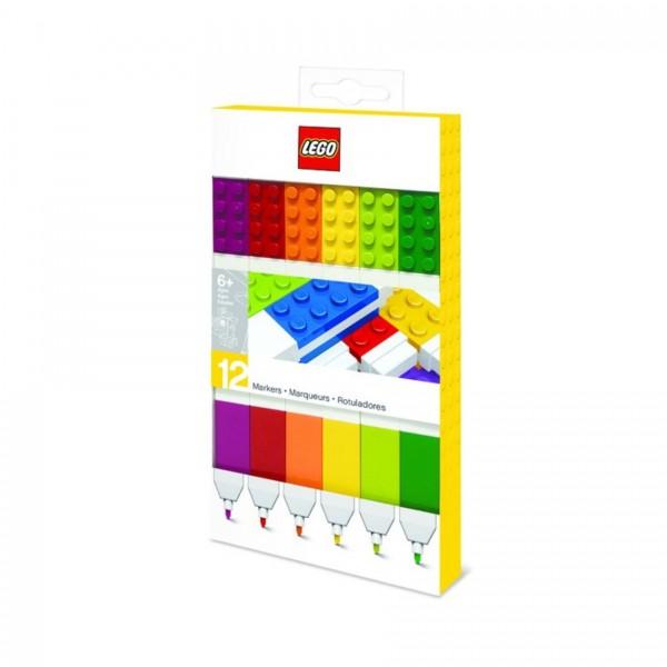 LEGO® 51644 Filzstifte - 12 Farben