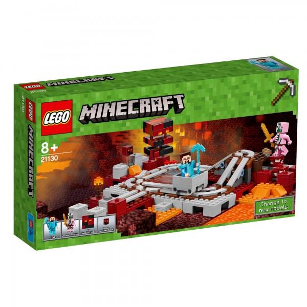 LEGO® Minecraft 21130 Die Nether-Eisenbahn