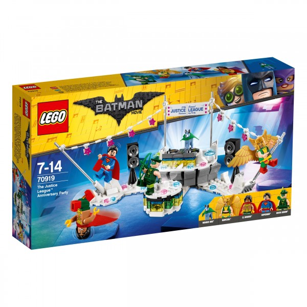 The LEGO® Batman Movie 70919 The Justice League Anniversary Party