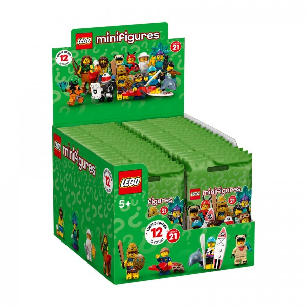 LEGO® 71029 Minifiguren Serie 21 Thekendisplay