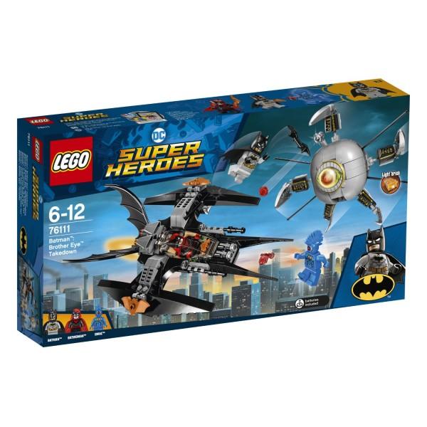 LEGO® DC Universe Super Heroes 76111 Batman: Brother Eye Gefangennahme