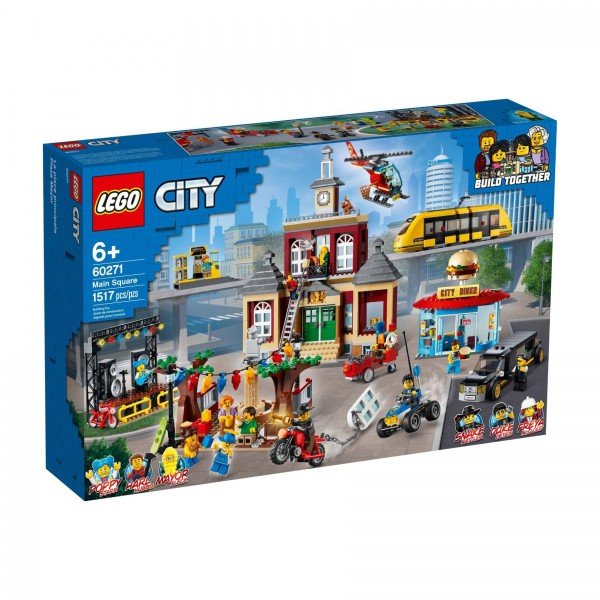 LEGO® CITY 60271 Stadtplatz