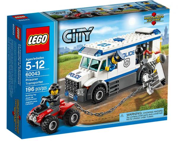 LEGO® CITY 60043 Flucht aus dem Gefangenen-Transporter