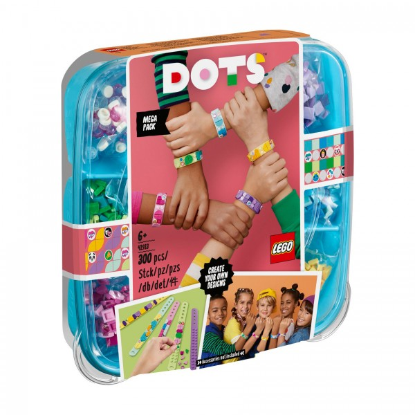 LEGO® DOTS™ 41913 Freundschaftsarmbänder Kreativset