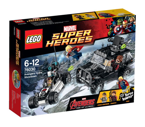 LEGO® Marvel Super Heroes 76030 Avengers - Duell mit Hydra