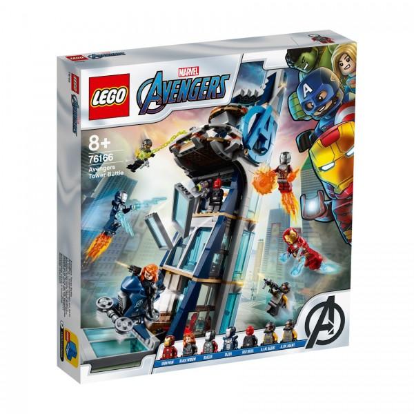 LEGO® Marvel Super Heroes™ 76166 Avengers - Kräftemessen am Turm