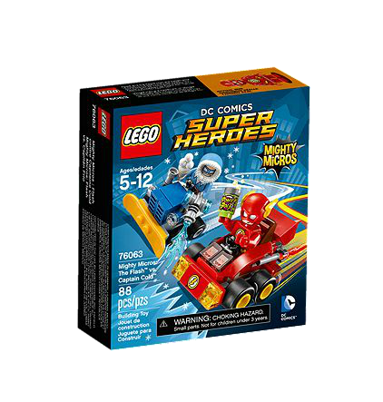 LEGO® DC Universe Super Heroes 76063 Mighty Micros: The Flash vs. Captain Cold