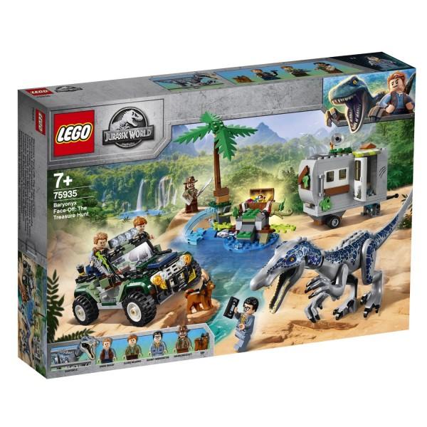 LEGO® Jurassic World 75935 Baryonyxs Kräftemessen: die Schatzsuche