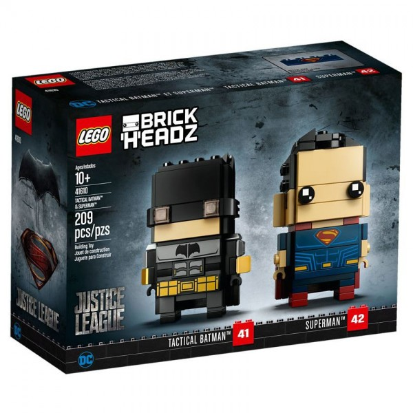 LEGO® BrickHeadz 41610 Tactical Batman & Superman